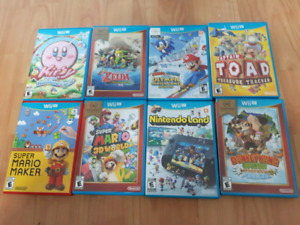 WII U, AUGMENTE TA COLLECTION