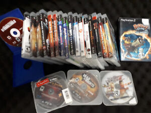 Ps3 games mass effect ratchet clank cod mgs guitar hero God of w