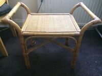 Wicker table chair