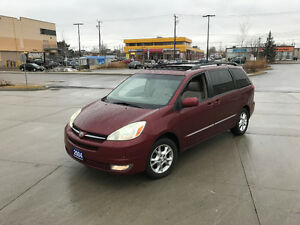 2004 Toyota Sienna, XLE, Leather, 3 Years warranty available