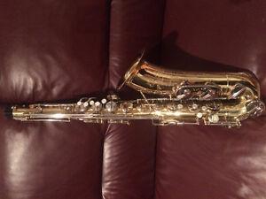 Vintage Bel Air tenor saxophone