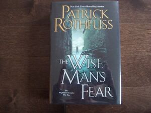WISE MAN'S FEAR PATRICK ROTHFUSS 1st/1st US edition signed-lined