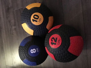 Ballons  lourd (med ball) en rubber