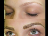 Eyebrow Microblading (semi permanent make up) from $250w/touchup