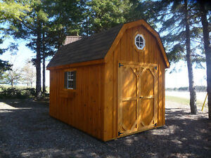 8x12' Hip Roof Garden Shed