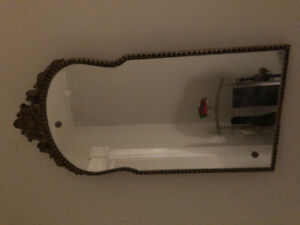 Gorgeous antique wall mirror