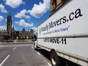 Family Movers - 519-200-3116 Local/Long Distance 24hrs