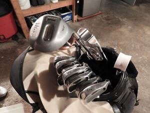 Complete golf set with bag and cart!