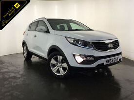 2013 63 KIA SPORTAGE 2 SERVICE HISTORY 1 OWNER FROM NEW FINANCE PX