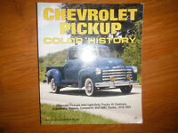 Chevrolet Pickup Color History by Tom Brownell 1918-1994