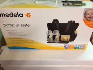 Medela  pump in style double electric (tote bag)