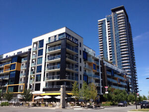 3 1/2 condo (one bedroom+Den) at the Pointe-Nord in Nuns Island