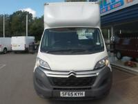 2015 Citroen RELAY 35 HEAVY L4 HDI LUTON VAN *TAIL-LIFT* Manual Large Van