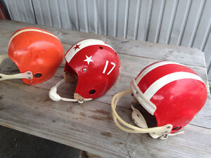 Casque de football antique