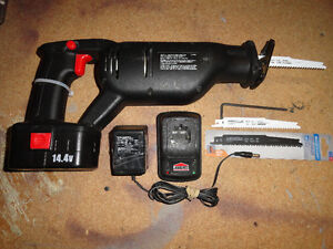 14.4v Cordless Reciprocating Saw with Accessories London Ontario image 1
