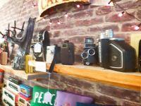 Vintage Cameras, SLRs, Folding Cameras, Collectable Cameras, Cine Cameras, Leica, Nikon,Canon, Bolex