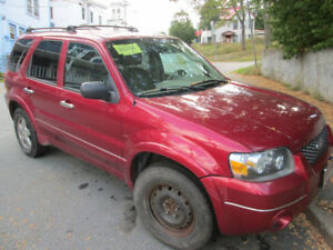 Inspected 2005 Ford Escape XLT 4WD for Parts or Repair