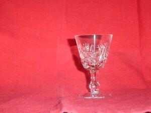 VINTAGE CRYSTAL GLASSWARE