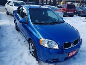 ONLY 82000KMS CERTIFIED 2009 Pontiac Wave Loaded with Sunroof