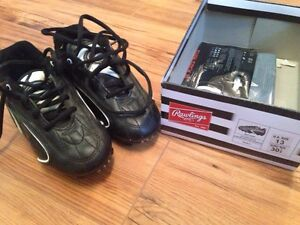 Soccer cleats size 13 youth