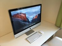 "iMac 27"" i5 2.7Ghz - 14GB RAM - 1TB HDD - Great condition - Wireless mouse and Keyboard - Free Apps"