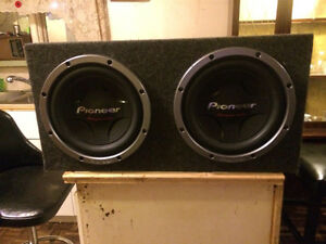 Brand new subs