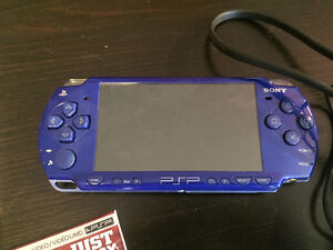 Sony PSP with 8 games