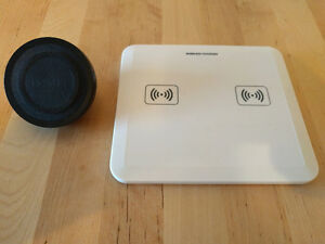 2 Qi wireless chargers