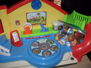 Fisher Price Little Peoples playground