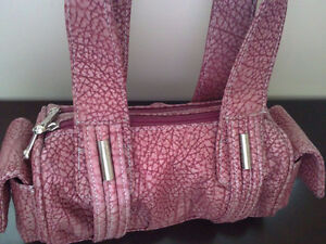 Women's dusty rose coloured faux leather handbag purse NWT London Ontario image 1