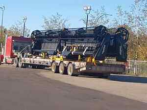 Heavy equipment hauling. Air seeder towing. Bin bottoms.Piloting Regina Regina Area image 6