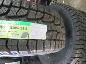 4 NEW LT305/70R16 10 PLY ON AND OFF ROAD TIRES ON SALE
