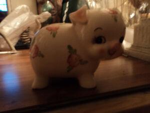 Vintage Ceramic Pig Bank