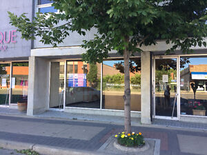 Downtown office, retail, or business space for lease rent