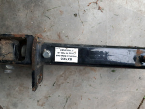 Hitch for towing cars