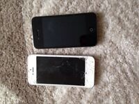 iPhone 5 and 4 spares or repairs