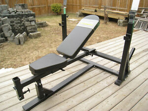 600LB RATED POWERTEC ULTIMATE OLYMPIC INCLINE-DECLINE WEIGHT BEN