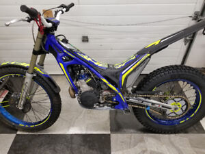 2017 Sherco ST 300 Factory Trials bike.  Excellent condition.