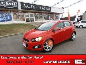 2012 Chevrolet Sonic LT   SUNROOF, ALLOYS, BLUETOOTH, REMOTE!