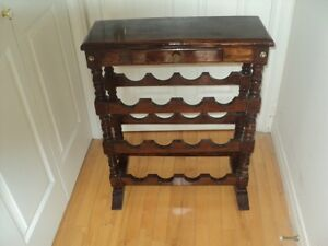 Wooden Wine Stand