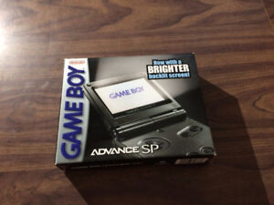 Game Boy Advance, GBA SP Graphite System AGS 101 Bundle with the