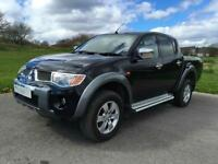 MITSUBISHI L200 2.5DI-D 4WD Double Cab Pickup Animal black 2006