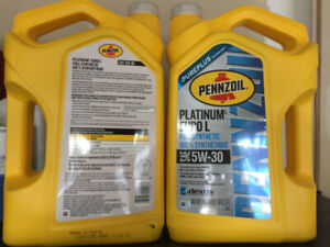 Pennzoil Platinum Euro 5W-30 Full Synthetic - Price per Jug