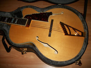 D'ANGELICO EXL-1 EXCEL HOLLOWBODY GUITAR W/OHSC