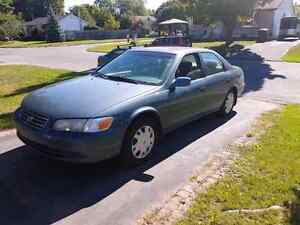 2001 toyota camry ce negotiable