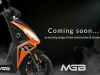 2021 MGB A9 125cc Automatic Learner Legal Scooter