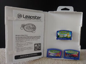 Leapster interactive learning games