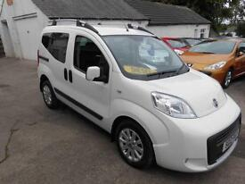 2012 FIAT QUBO TREKKING MPV 1.3 MANUAL DIESEL 5 DOOR HATCH IN WHITE