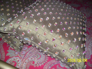 VERY LARGE DESIGNER FLOOR CUSHIONS  $100 EACH - NOW ONLY $15 EA