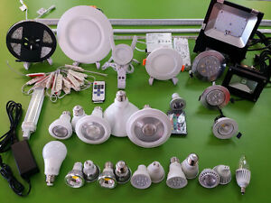 LED POT LIGHT, HOUSING, STRIP, KITCHEN CABINET AND DOWN LIGHT,